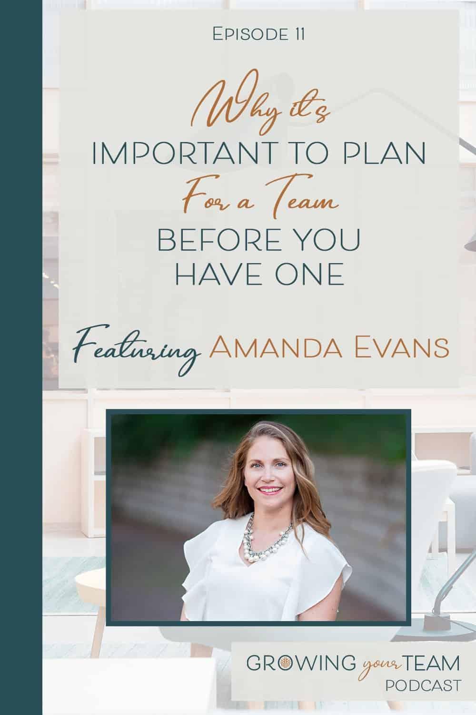 Amanda Evans, Growing You Team Podcast, Jamie Van Cuyk, Small Business