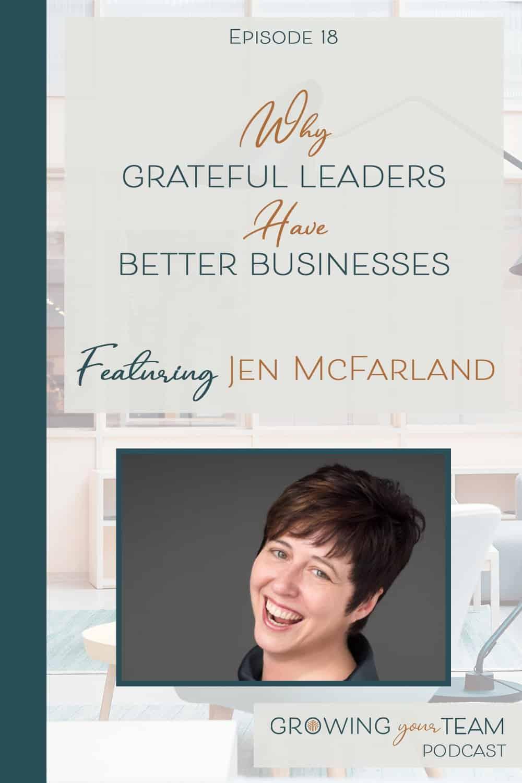 Jen McFarland, Growing You Team Podcast, Jamie Van Cuyk, Small Business