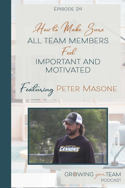 Peter Masone, Growing You Team Podcast, Jamie Van Cuyk, Small Business