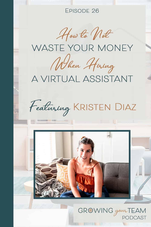 Kristen Diaz, Growing You Team Podcast, Jamie Van Cuyk, Small Business