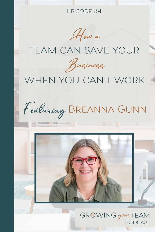 Breanna Gunn, Growing You Team Podcast, Jamie Van Cuyk, Small Business