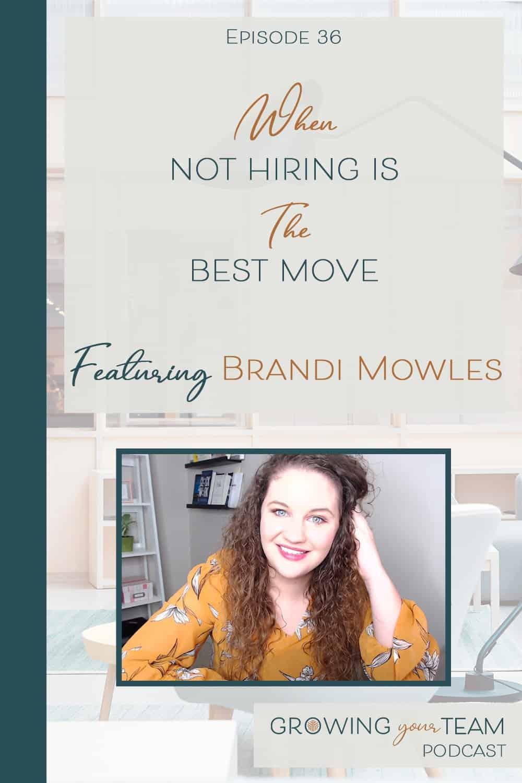 Brandi Mowles, Growing You Team Podcast, Jamie Van Cuyk, Small Business