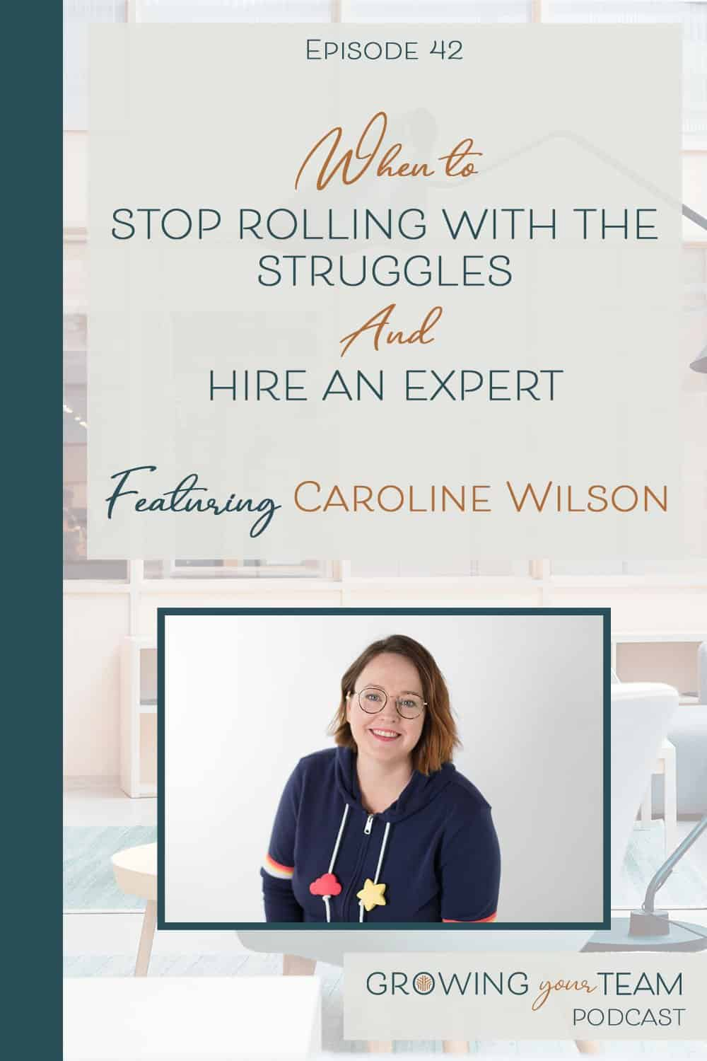 Caroline Wilson, Growing You Team Podcast, Jamie Van Cuyk, Small Business