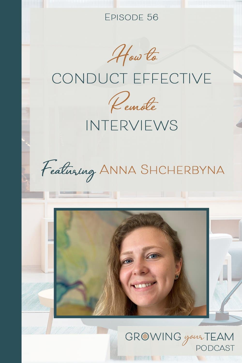 Anna Shcherbyna, Growing You Team Podcast, Jamie Van Cuyk, Small Business