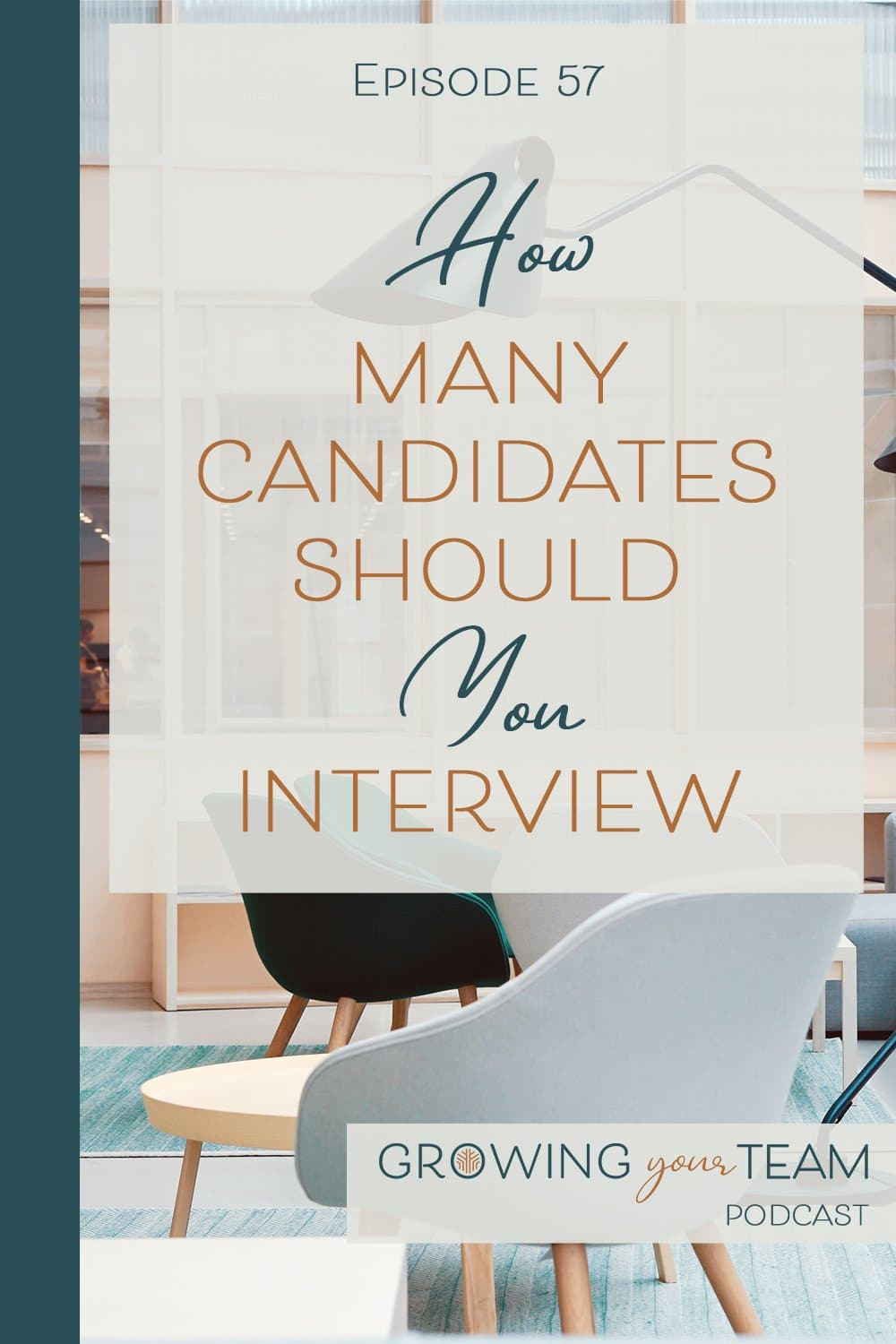 How Many Candidates Should Your Interview, Growing You Team Podcast, Jamie Van Cuyk, Small Business