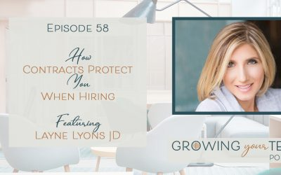 Ep58 – How Contracts Protect You When Hiring with Layne Lyons JD