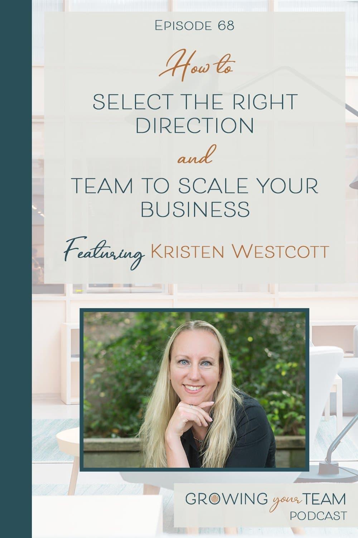 Kristen Westcott, Growing You Team Podcast, Jamie Van Cuyk, Small Business