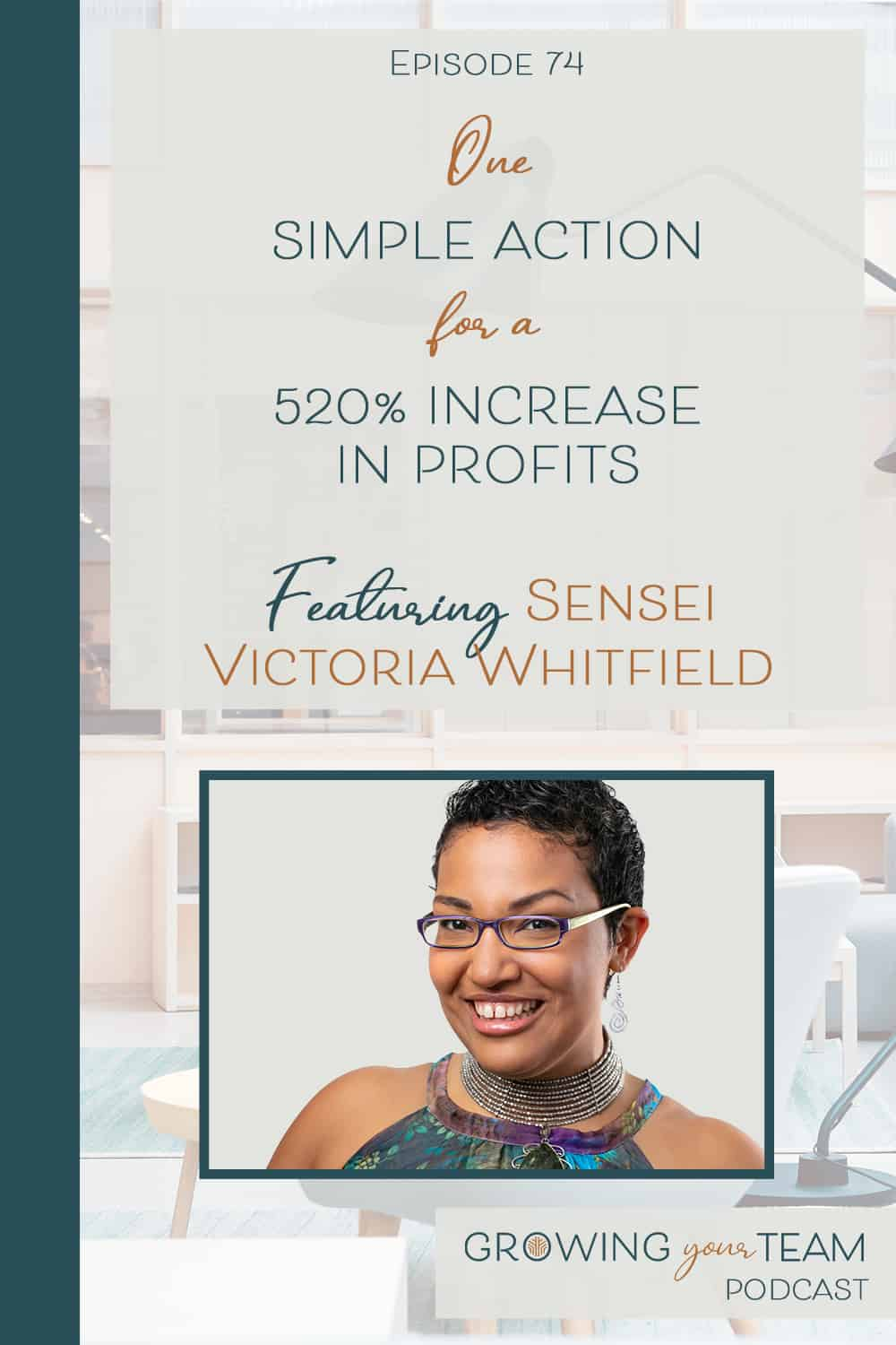 Sensei Victoria Whitfield, Growing You Team Podcast, Jamie Van Cuyk, Small Business