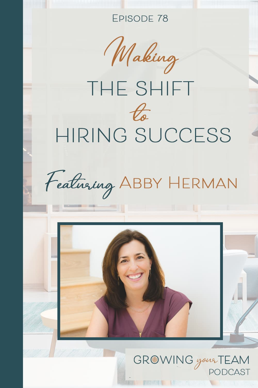Abby Herman, Growing You Team Podcast, Jamie Van Cuyk, Small Business