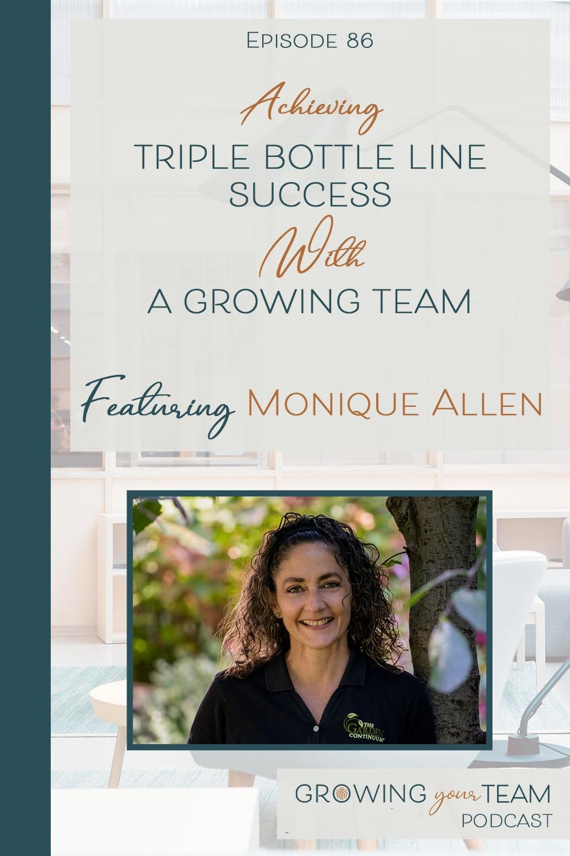 Monique Allen, Growing Your Team Podcast, Jamie Van Cuyk, Small Business