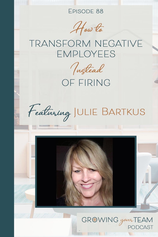 Julie Bartkus, Growing Your Team Podcast, Jamie Van Cuyk, Small Business